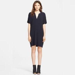 Vince V-Neck Tunic Dress - Size XSmall